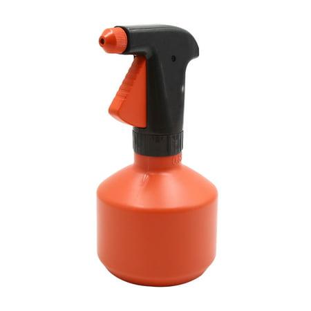 Plastic Orange Car Trigger Spray Bottle Window Washing Cleaner Tool 0.85L