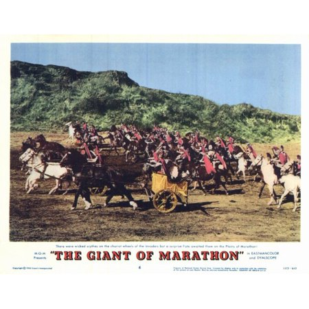 The Giant of Marathon POSTER Movie F Mini Promo - Halloween Movie Marathon 2017