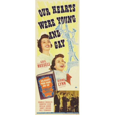 Our Hearts Were Young and Gay - movie POSTER (Insert Style A) (14