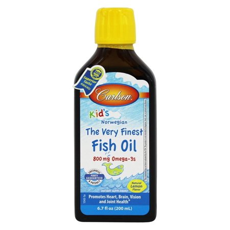 Carlson labs for kids the very finest norwegian fish oil for Carlson norwegian fish oil