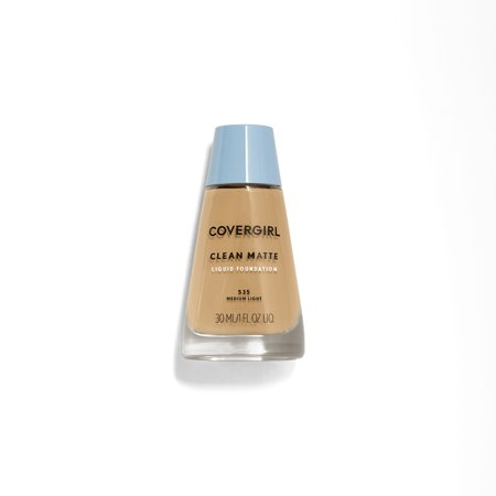 COVERGIRL Clean Matte Liquid Foundation, 535 Medium
