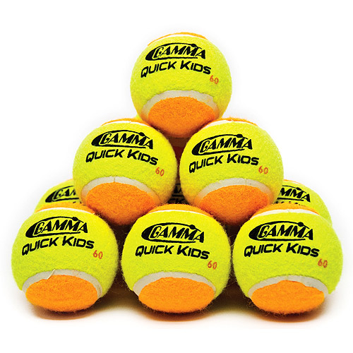 Gamma Quick Kids 60' Tennis Training Ball 12 pack