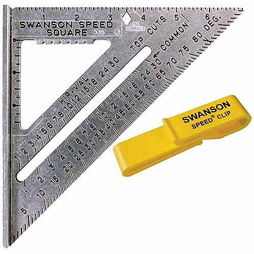 Swanson Tool S0101C Value Pack Speed Square