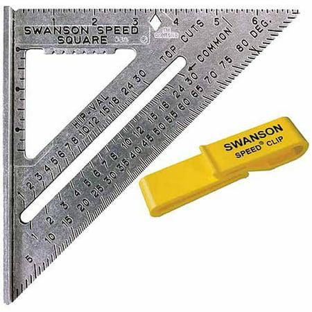 Swanson Tool S0101C Value Pack Speed Square (12 Speed Square)