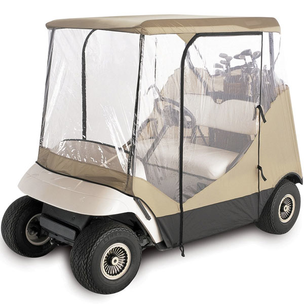 KapscoMoto WATERPROOF SUPERIOR BEIGE AND TRANSPARENT GOLF...