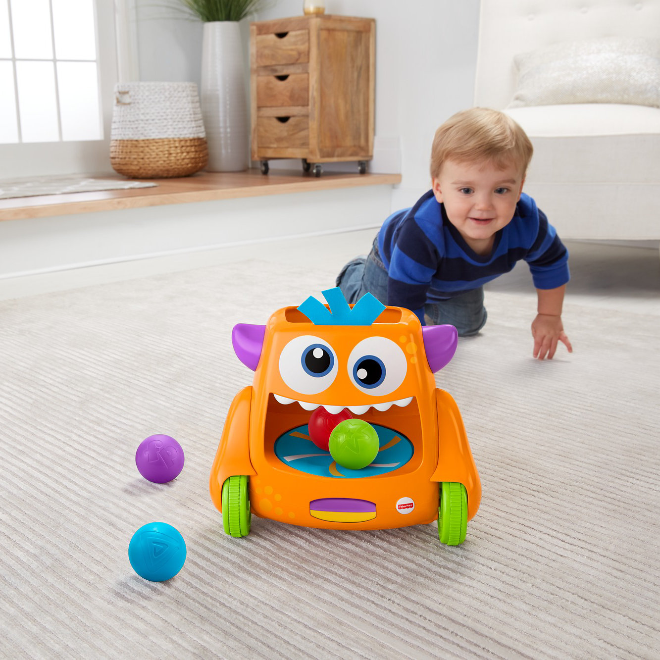 Fisher Price Zoom 'N Crawl Monster by Fisher-Price