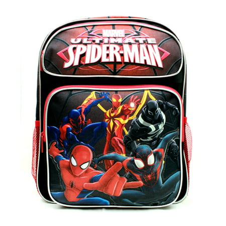 Medium Backpack - Marvel - Spiderman Group Black 14