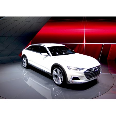 LAMINATED POSTER Audi Concept Car Prototype Prologue Poster Print 24 x (Concept Car Poster)