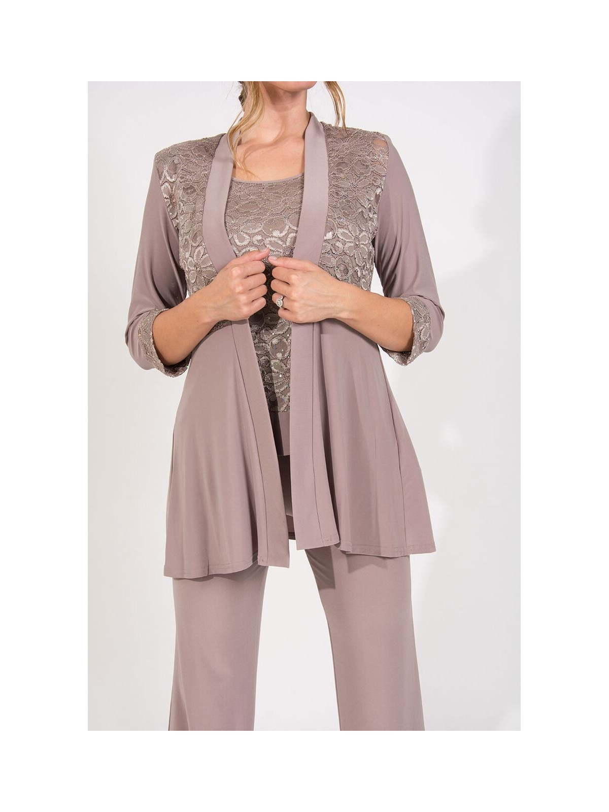 4412cf2513f R M Richards Mother of the Bride Formal Pant Suit - Walmart.com