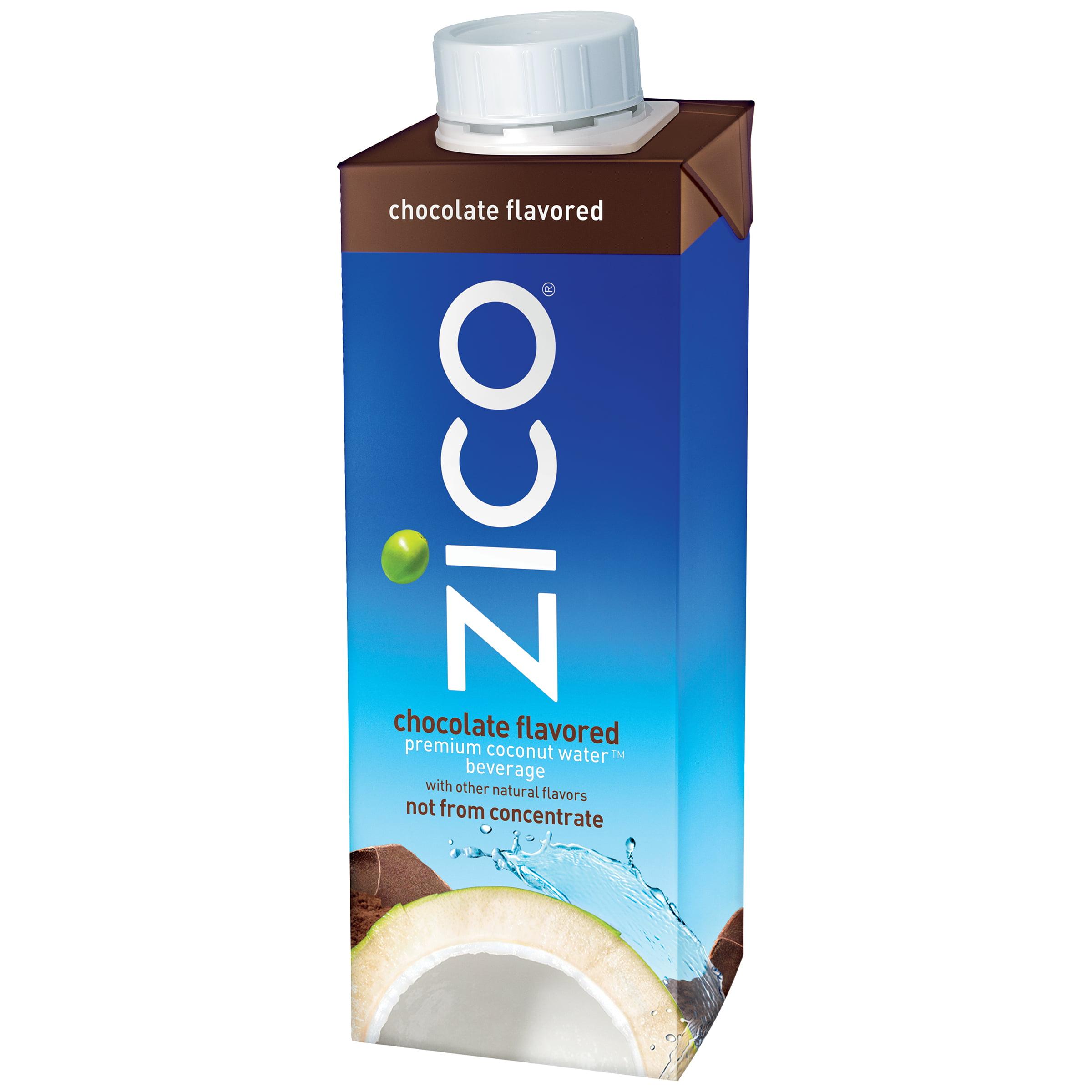 ZICO Premium Coconut Water, Chocolate, 8.45 fl oz
