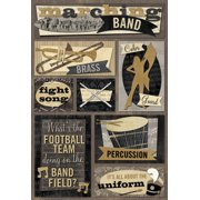 Cardstock Stickers-Marching Band