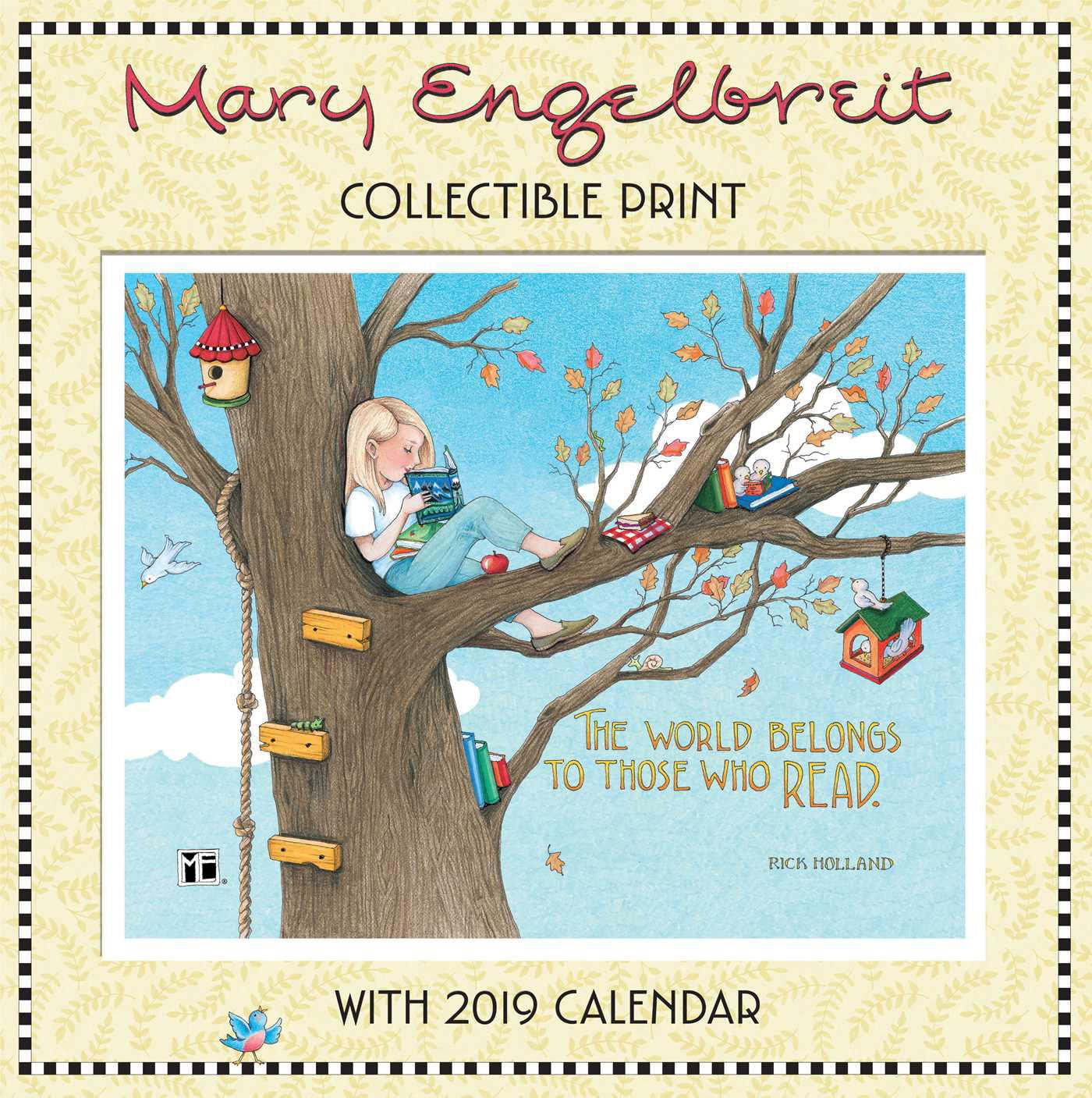 Mary Engelbreit Collectible Print 2019 Calendar