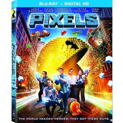 Pixels (Blu-ray   Digital HD) (With INSTAWATCH)