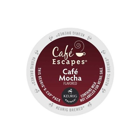 Mocha Cafe (Cafe Escapes Cafe K-Cups, Mocha, 96)