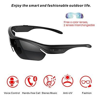 seleven smart touch bluetooth 4.0 sunglasses stereo music...