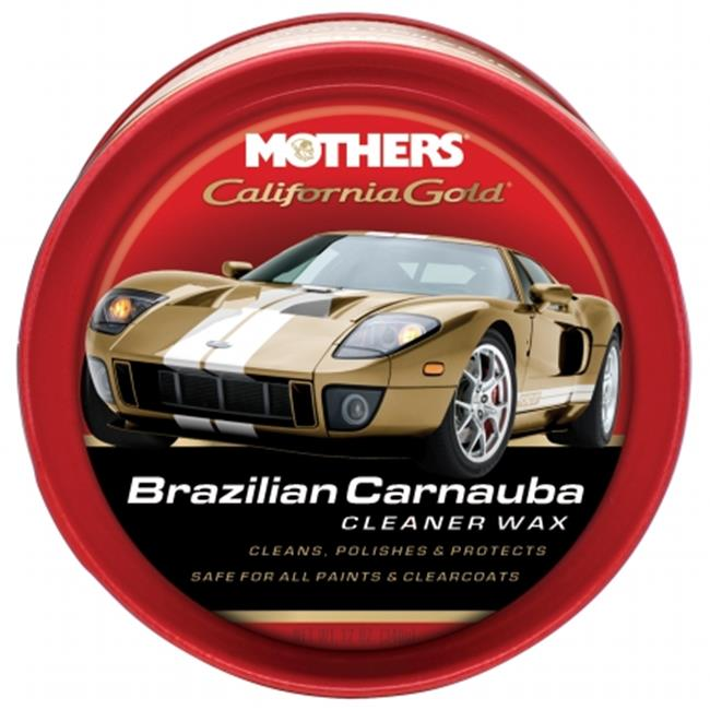 Mothers 05500 12 Oz California Gold Original Formula Carnauba Cleaner Wax