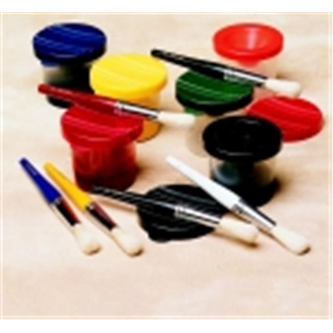 Childcraft No-Spill Paint Cup With Lids, Set - 10