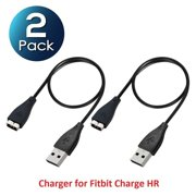"""For Fitbit Charge HR Charger [2 Pack] USB Replacement Charging Cable Cord For Fitbit Charge HR Charger 9.5"""" by Insten (NOT for with Charge 3 Charge 2 Charge 1)"""