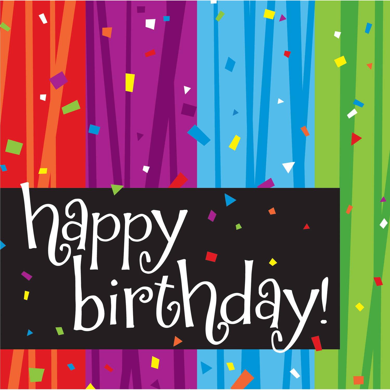 """Milestone Celebrations """"Happy Birthday"""" Napkins, 16pk"""