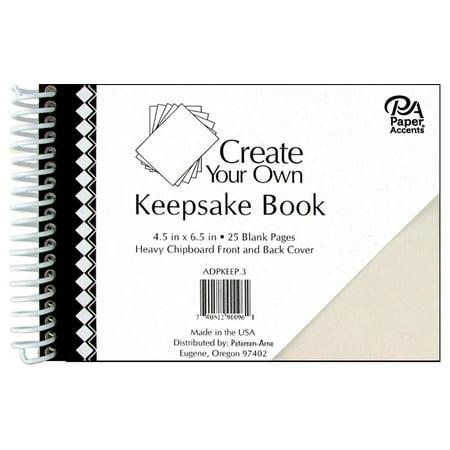 CYO Keepsake Book 4.5x6.5 25pg White Cvr