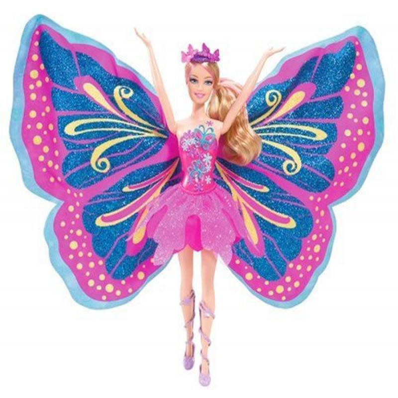 Barbie Fairy - Tastic Pink/Purple Princess Doll