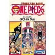 One Piece (Omnibus Edition), Vol. 16 : Thriller Bark, Includes vols. 46, 47 & 48