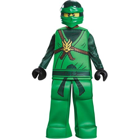 Boys' Lego Ninjago Lloyd Prestige Costume