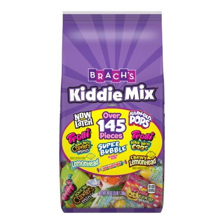 Halloween Party Mix Food (Brach's Kiddie Assorted Candy Mix, 48 Oz., 145+)