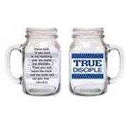 Divinity Boutique 120922 Drinking Jar-True Disciple
