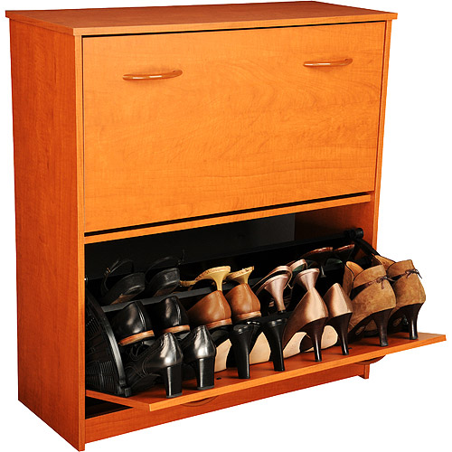 Shoe Cabinet, Double, Cherry
