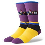 Stance Men's NBA ASG FanGear Crew Socks Large (9-12) All Star Game Edition 2018