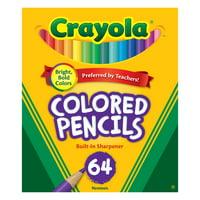 Crayola Colored Pencil Set, 64-Colors