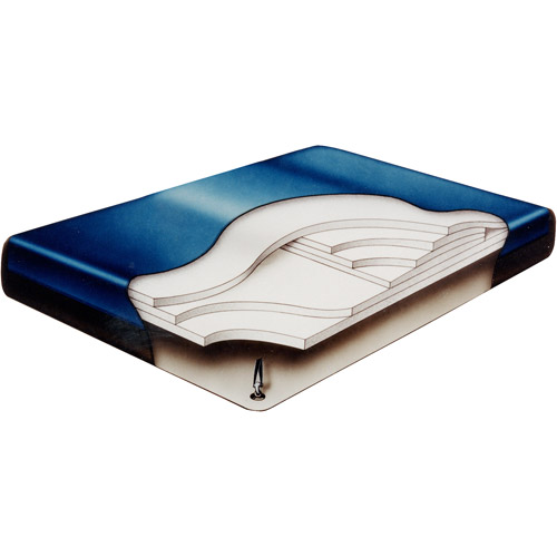 Fiber 3500 Hardside Waterbed Mattress and Liner