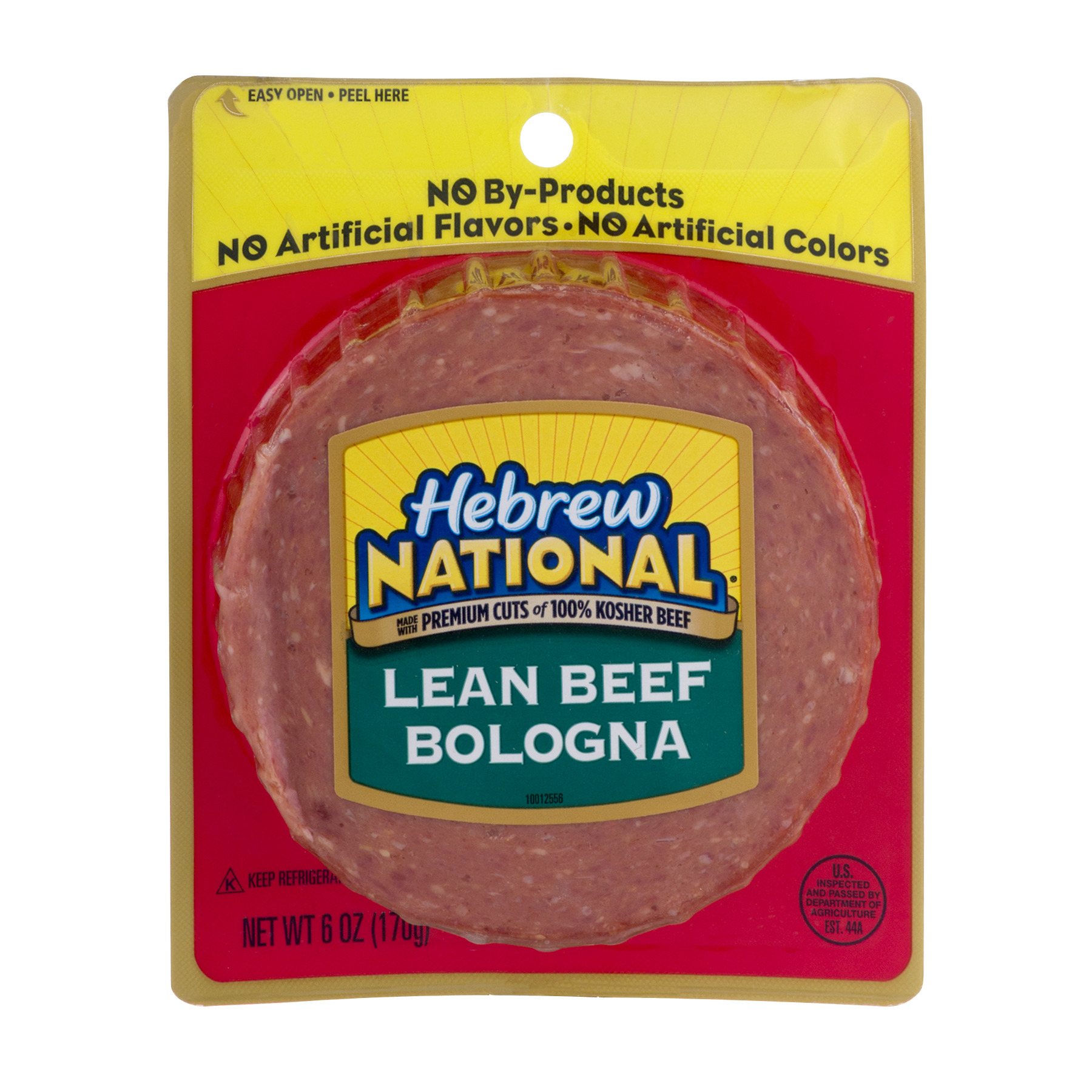 Hebrew National Lean Beef Bologna, 6.0 OZ