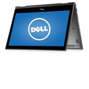 """Dell Gray 13.3"""" Inspiron 13 5000 i5368-10024GRY Laptop PC with Intel Core i7-6500U Processor, 8GB Memory, touch screen, 256GB Solid State Drive and Windows 10 Home"""