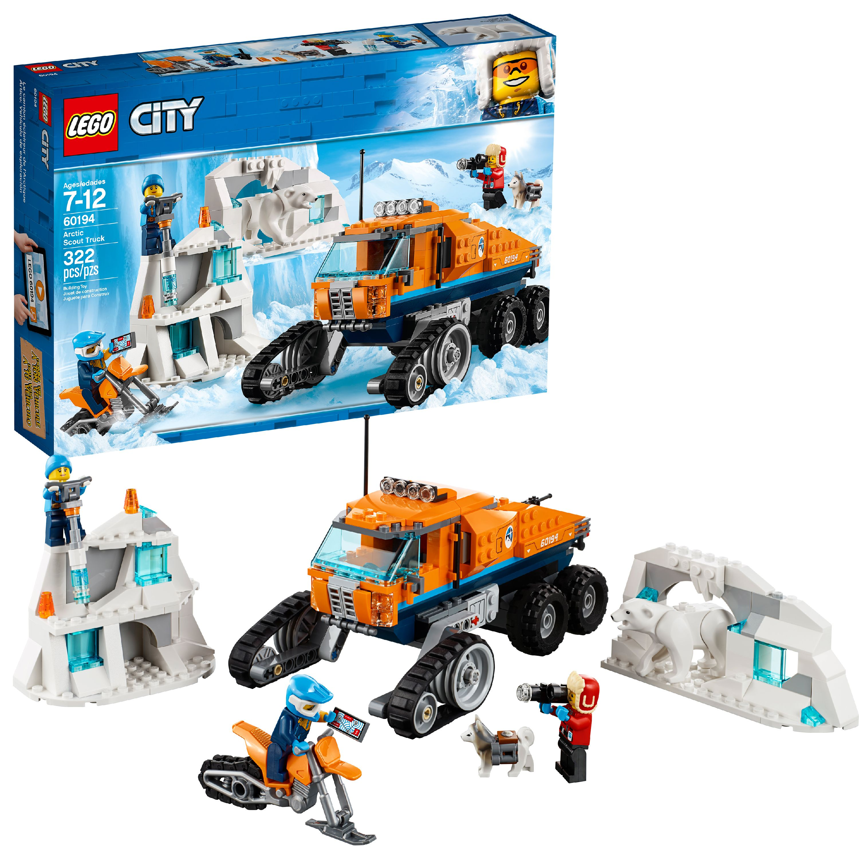 LEGO City Arctic Expedition Arctic Scout Truck 60194
