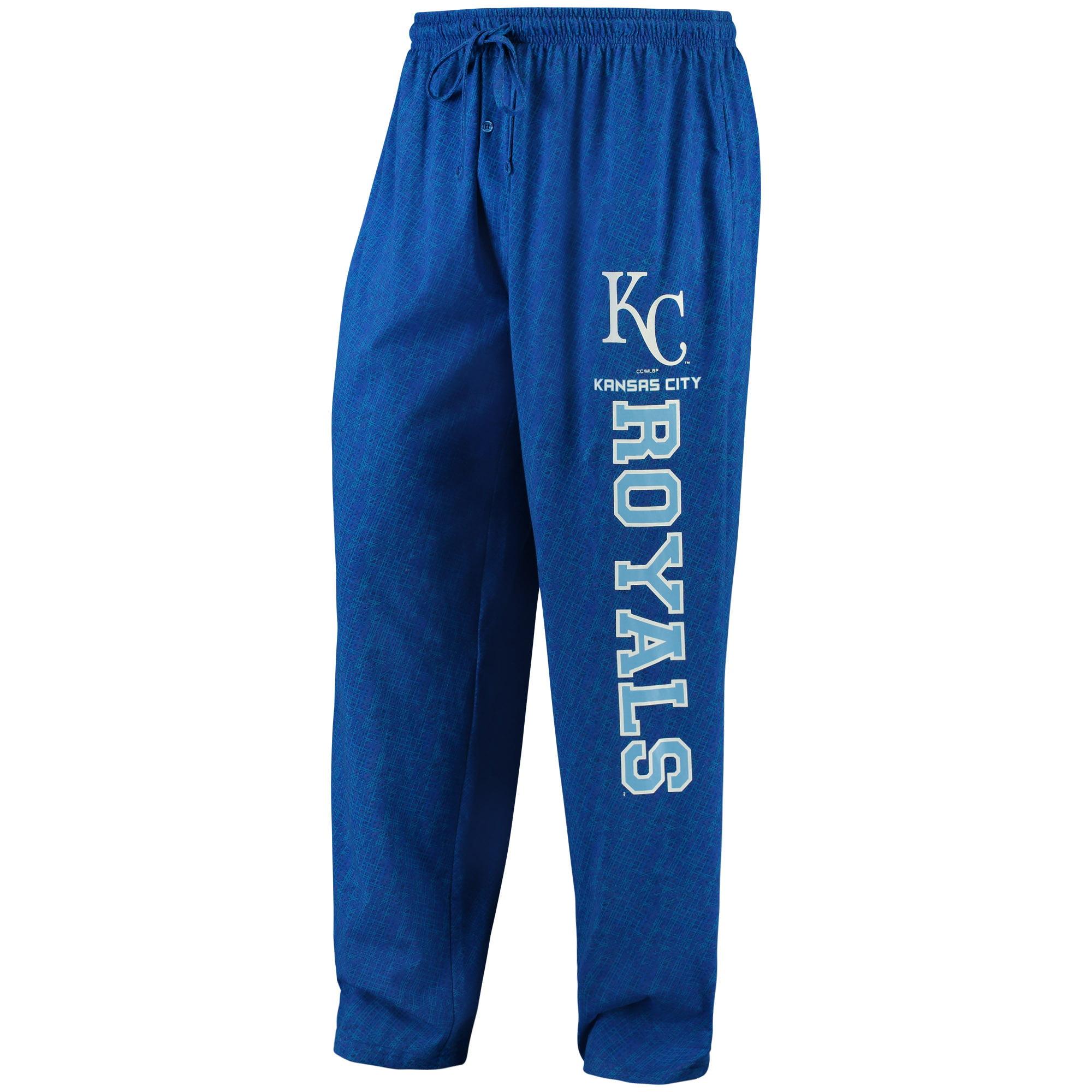 Kansas City Royals Concepts Sport Showdown Knit Pants - Royal
