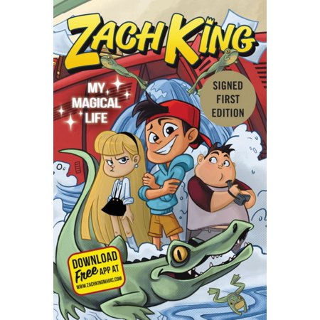 ZACH KING (SIGNED):MY MAGICAL LIFE (Steinbach Signed Kings)
