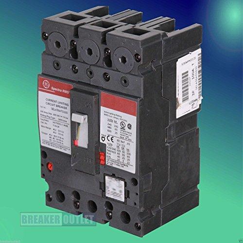 New GE General Electric SELA36AT0030 3 Pole 30 Amp 600 Volt Circuit Breaker