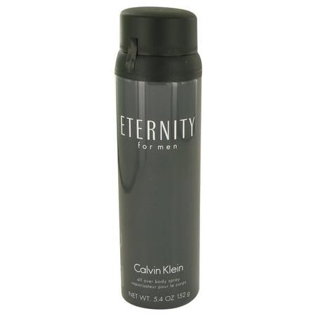 Contemporary Body Spray - ETERNITY by Calvin Klein Body Spray 5.4 oz for Men