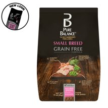 Dog Food: Pure Balance Small Breed Grain Free