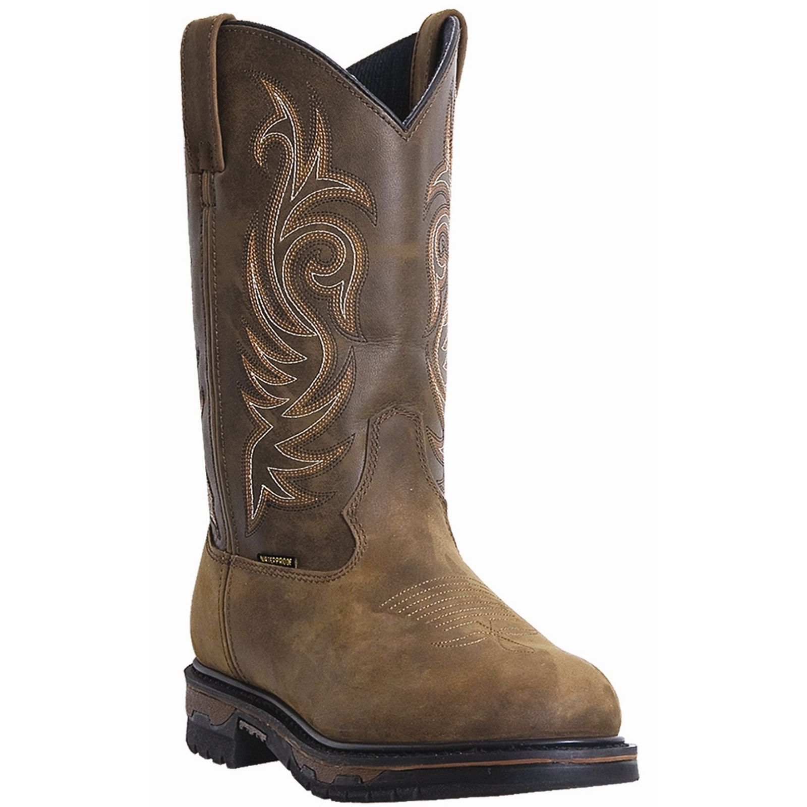 Laredo 68132 Men's Tan Cheyenne Sullivan Waterproof ST Work Boots by Laredo