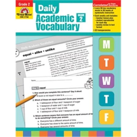 Evan-Moor Educational Publishers 2758 Daily Academic Vocabulary,