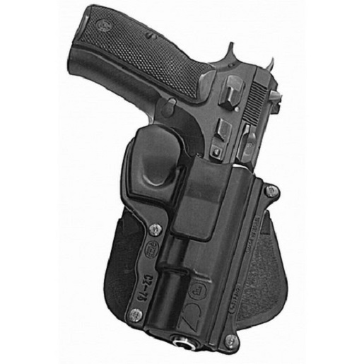 Fobus CZ75RP Roto Paddle Holster Black Fits CZ- 75 75BD 85 by Fobus