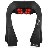 Belmint Shiatsu Back and Neck Massager with Heat and Deep Kneading Massage for Neck, Back and Shoulder