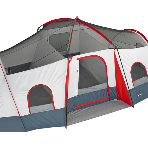 Ozark Trail 10 Person Tent With Screen Porch 21x15 Extended Dome  sc 1 st  Yard and Tent Photos Ceciliadeval.Com & Ozark Trail 10 Person 3 Room Tent - Yard and Tent Photos ...