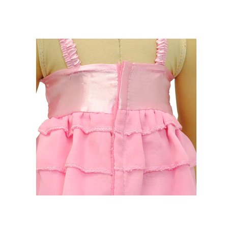 Doll Clothes - Pink Tank Top Shirt Blouse Outfit Set Fits American Girl Doll and 18 inch Dolls - image 3 of 6