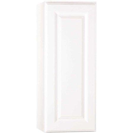 Hampton Bay 2478265 Wall Cabinet, White, 12X30 In. (Hampton Bay Bath Cabinet)