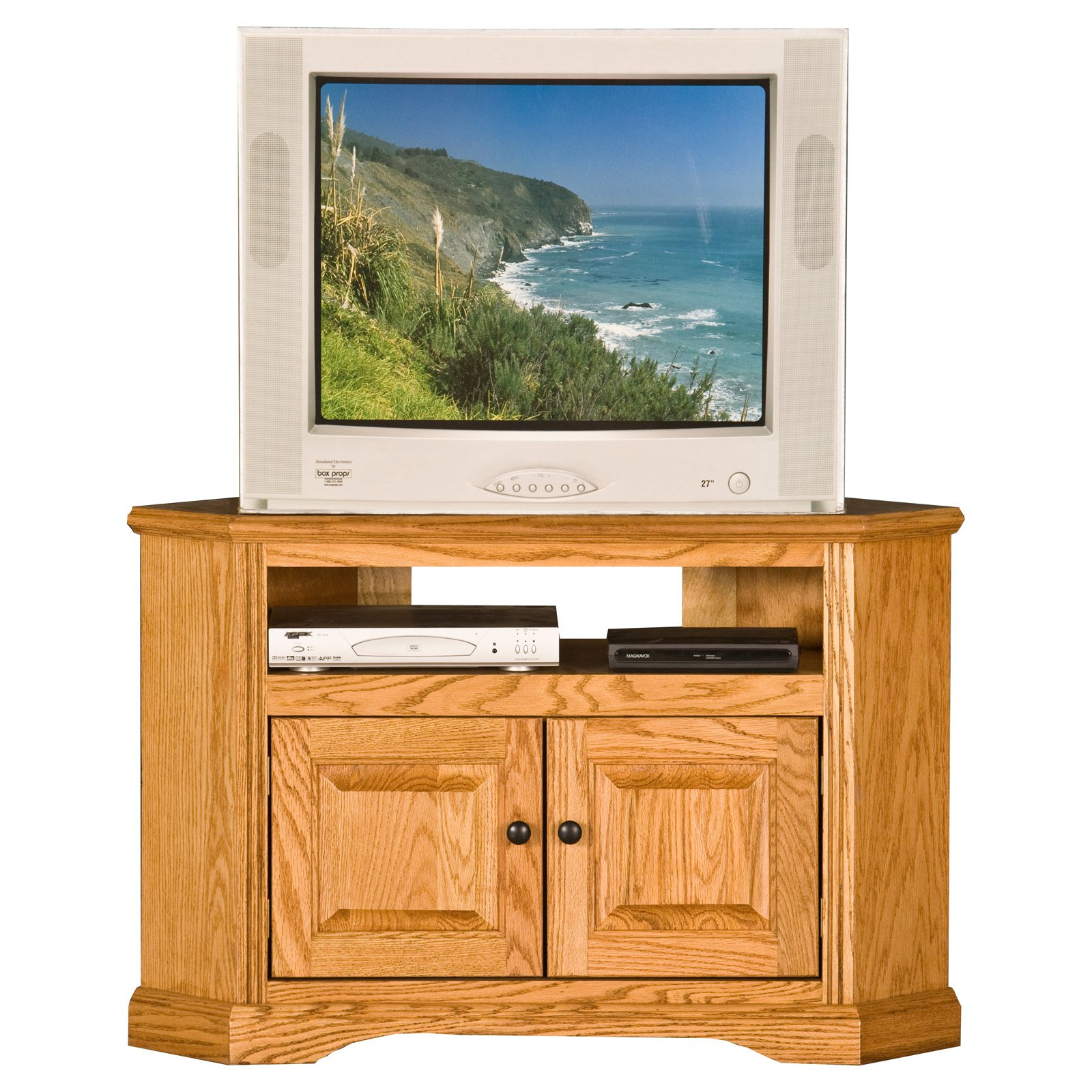 Eagle Furniture Oak Ridge 41 in. Corner TV Stand