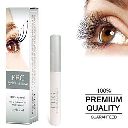 Yosoo FEG Eyelash Growth Nourishing Enhancer Eyelash Serum 100% Natural For Longer & Darker Eyelash, Eyelash Serum, Eyelash Thicker - image 9 of 9